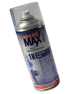 1K Klarlack matt Spray (400ml)